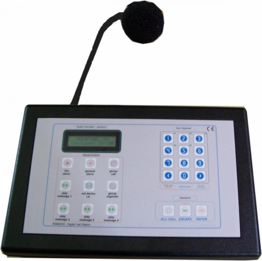 Ψηφιακή κονσόλα 99+ ζωνών ABS RSM 200D